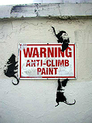 banksy, economic miracle, detroit economics, democratic spending, ron paul, barak obama, hillary clinton