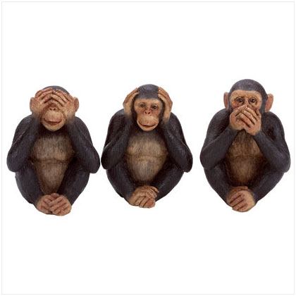 1000 images about see no hear no speak no on pinterest see no evil three wise monkeys. Black Bedroom Furniture Sets. Home Design Ideas