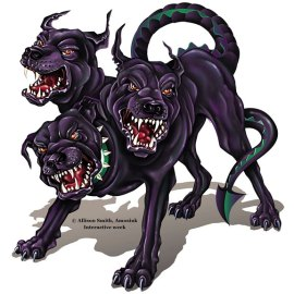 Cerberus Demon Dog