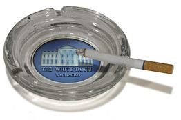 Obama's New Ashtray